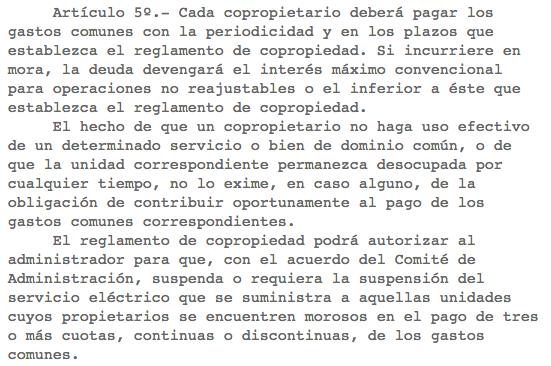 Ley de Copropiedad