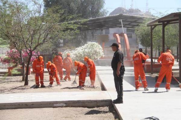 Cambio multa penal por trabajo comunitario