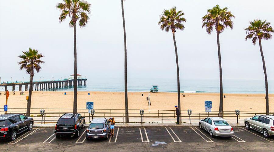 Cobro de estacionamientos en playas