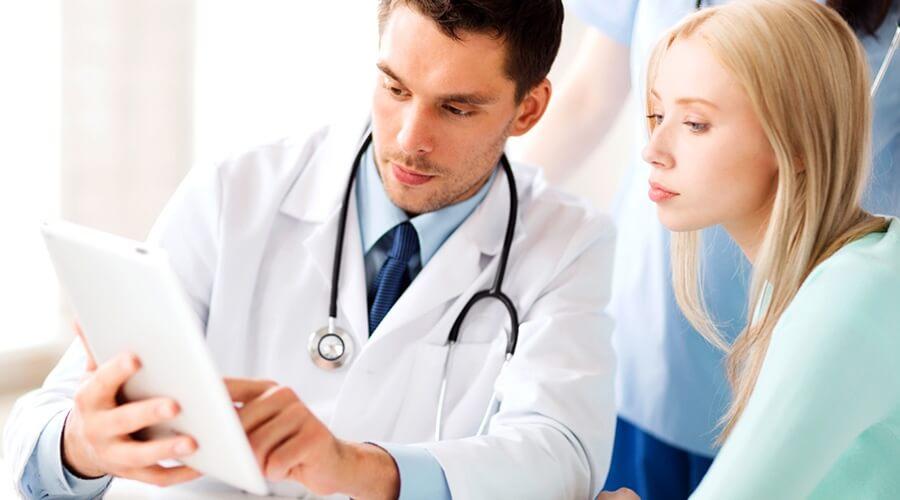 Permiso para exámenes médicos