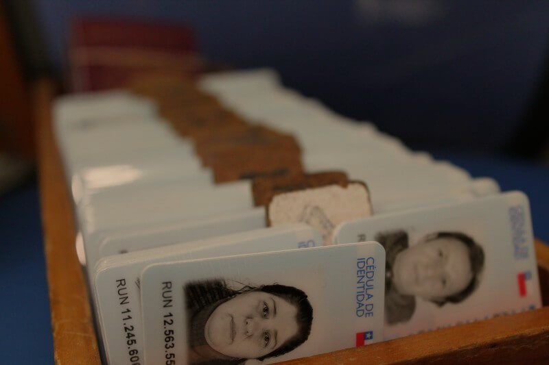 Retención carnet de identidad