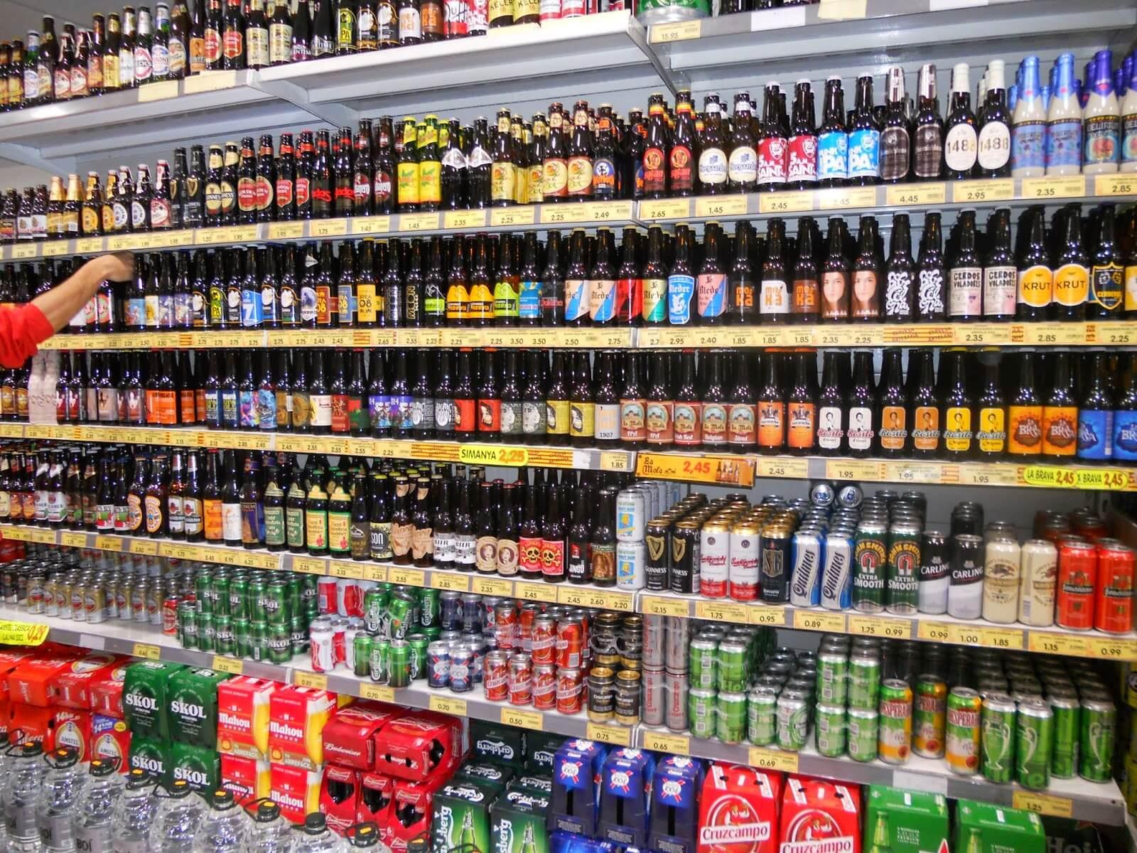 Venta y consumo de alcohol