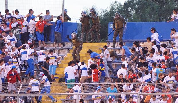 Violencia en los estadios